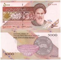 Iran - 5000 Rials 2018 P. 152(c) UNC Lemberg-Zp - Iran
