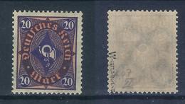 Deutsches Reich Michel-Nr. 207W Postfrisch - Geprüft - Usati