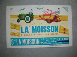 BUVARD LA MOISSON - LE MANS / St Maur Des Fosses / Gravelle / Tracteur - Agricoltura