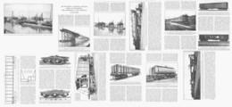 LES WAGONS De GRANDE CAPACITE  1922 - Ferrovie