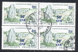 BLOC DE 4 - OBLITERE - YT 377 - COTE DES TIMBRE : 7.20 € - Used Stamps