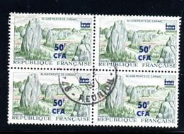 BLOC DE 4 - OBLITERE - YT 377 - COTE DES TIMBRE : 7.20 € - SECOND CHOIX - Used Stamps