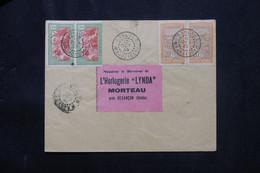 MADAGASCAR - Enveloppe De Soalala En 1933 Pour L' Horlogerie Lynda De Morteau - L 75260 - Brieven En Documenten