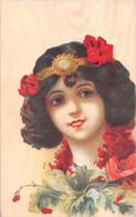 ¤¤  -     ILLUSTRATEUR  -  Femme , Fleurs    -  ¤¤ - 1900-1949