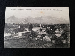 Echirolles - 38 Isére - Fort De Grenoble Et Massif De La Chartreuse - Circulée Environ 1910 - Echirolles