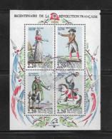 France Blocs Feuillet  N°10  De 1989  Oblitéré - Usati