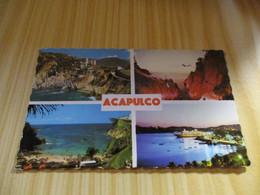 CPSM Acapulco (Mexique).Vues Diverses. - Mexico