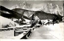 Eisenerz/Steiermark - Mit Kaiserschild Im Winter - Eisenerz