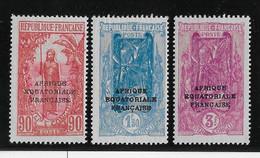 Congo N°106/108 - Neuf * Avec Charnière - TB - Ungebraucht