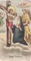 Santino Fustellato Santa Lutgarda - Devotion Images