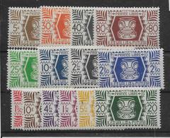 Wallis Et Futuna N°133/146 - Neuf ** Sans Charnière - TB - Unused Stamps