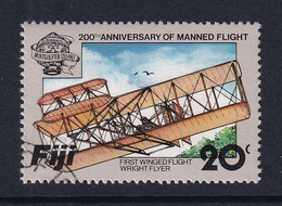 Fiji: 1983   Bicentenary Of Manned Flight  SG660   20c    Used - Fiji (...-1970)