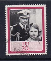 Fiji: 1986   60th Birthday Of QE II  SG714   20c    Used - Fidschi-Inseln (...-1970)