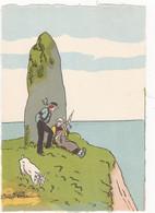 BRETAGNE : La Bergère    BARRE DAYEZ  N° 1121 A  Dépôt Légal  1946-3 ( Neuve) - 1900-1949