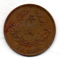 CHINA - REPUBLIC, 10 Cash, Copper, Year N.D. (1914-17), KM #309 - China