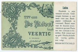 De Nederlandsche Bank - Veertig Gulden - Bram Rotschild - Amsterdam