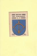 Drunen Gemeentewapen Ca. 1925 RYW 1194 - Sin Clasificación