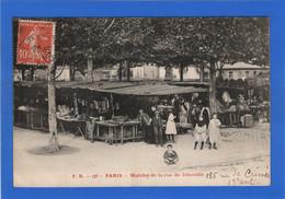 75 PARIS - 19ème, Marché De La Rue De Joinville - Distrito: 19
