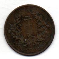 CHINA - REPUBLIC, 20 Cash, Copper, Year N.D. (1921), KM #310 - China