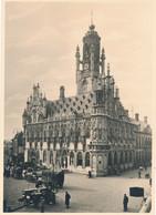 Nederland - 1946 - 5 Op 7,5 Cent Veth, Fotokaart Middelburg - Stadhuis, Briefkaart G284k - Ongebruikt - Ganzsachen