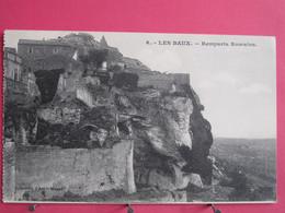 13 - Les Baux De Provence - Remparts Romains - Très Bon état - Scans Recto-verso - Les-Baux-de-Provence