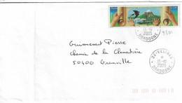 TP N° 3801 Seul Sur Enveloppe De Velines - 1961-....
