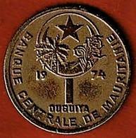 MAURITANIE / 1 OUGUIYA / 1974 - Mauritania