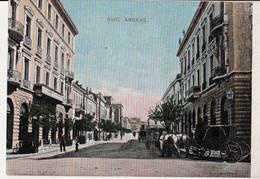 GRECE- RUE D'ATHÈNES ) Rue Du Minerve 1916 Précurseur Couleur Circulée 29/03/1916Texte De Soldat  SP509 - Grèce