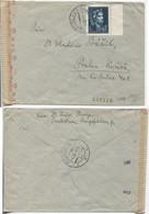 Slowakei # 138 Einzelfrankatur Bratislava 4.4.44 > Prag, Fürst Kocel, OKW-Zensur - Storia Postale