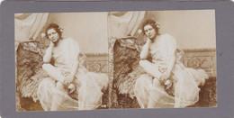 Stereofoto (photo Stéréo) -erotische Darstellung 1210 - Stereoscoop
