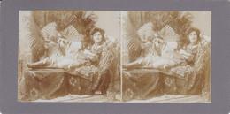 Stereofoto (photo Stéréo) -erotische Darstellung 1522 - Stereoscoop
