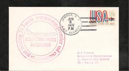 3-6-1970 PREMIER VOL COMMERCIAL PAR BOEING 747 PARIS NEW YORK - Eerste Vluchten