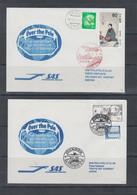 Sweden-Japan Flights Over Pole 1982 - Polare Flüge