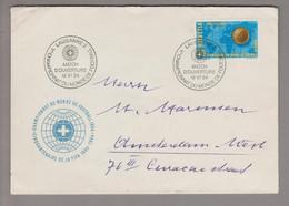 Motiv Fussball WM 1954-06-16 Lausanne 2 Eröffnungsspiel - 1954 – Zwitserland