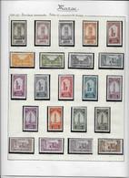 Maroc - Collection Vendue Page Par Page - Neufs * Avec Charnière - TB - Unused Stamps
