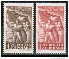 PL 1952 MI 724-25 MNH ** - Ongebruikt