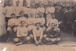STADE TOULOUSAIN - Equipe  1911-12 Champion De France - Rugby