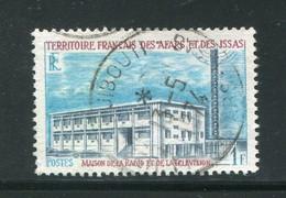 AFARS ET ISSAS- Y&T N°343- Oblitéré - Oblitérés