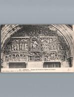 -12- Aveyron - Conques - Cpa - Tympan Du Portail De L'Eglise - 1915 - Franchise Militaire - Otros Municipios
