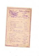 Programme Duconcert Fanfare Des Pompiers De ST AY 21 Novembre 1909 - Programs