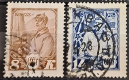 USSR 1928 - Canceled - Sc# 402, 403 - Gebraucht