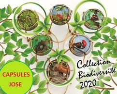 Série De 6 Capsules De Champagne GENERIQUE  (Biodiversité Novembre 2020) - Colecciones