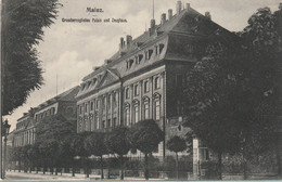 N°7834 R -cpa Mainz -palais Und Zoughaus- - Mainz