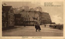 HELGOLAND, OBER UND UNTERLAND. ALEMANIA GERMANY DEUTSCHLAND - Zonder Classificatie