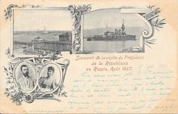 1897 - Souvenir De La Visite Du Président De La République En Russie Août 1897 - Russia