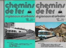 LE CHEMIN DE FER DE CAEN  A LA MER  Revues C F R U N° 187/188  1985  I/II - Other
