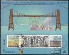 2017-ED. 5172 H.B. Exfilna 2017. Portugalete. Puente Metálico-USADO - 2011-... Usados