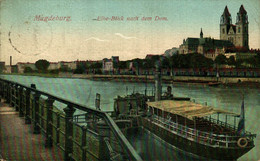 MAGDEBURG ELHE BLICK NACH DEM DOM. ALEMANIA GERMANY DEUTSCHLAND - Sin Clasificación