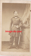 PHOTO ANCIENNE CDV MILITAIRE GARDE MOBILE SHAKO - Old (before 1900)