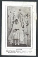 +++ CPA - Célébrité - CHRISTINE Petite Fille Peau-Rouge ...communion...Missions Des Pères Oblats Amérique Du Nord  // - Misiones